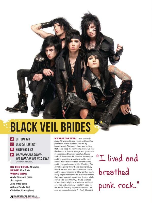 black veil brides torrent